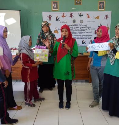 capacity building training of kindergarten teachers and principals